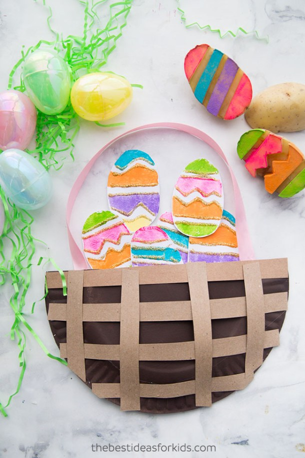 15 Cute and Fun Easter Crafts for Kids (Part 1) - Easter Crafts for Kids, Easter crafts, Easter Craft ideas, DIY Easter Decor Projects, diy Easter