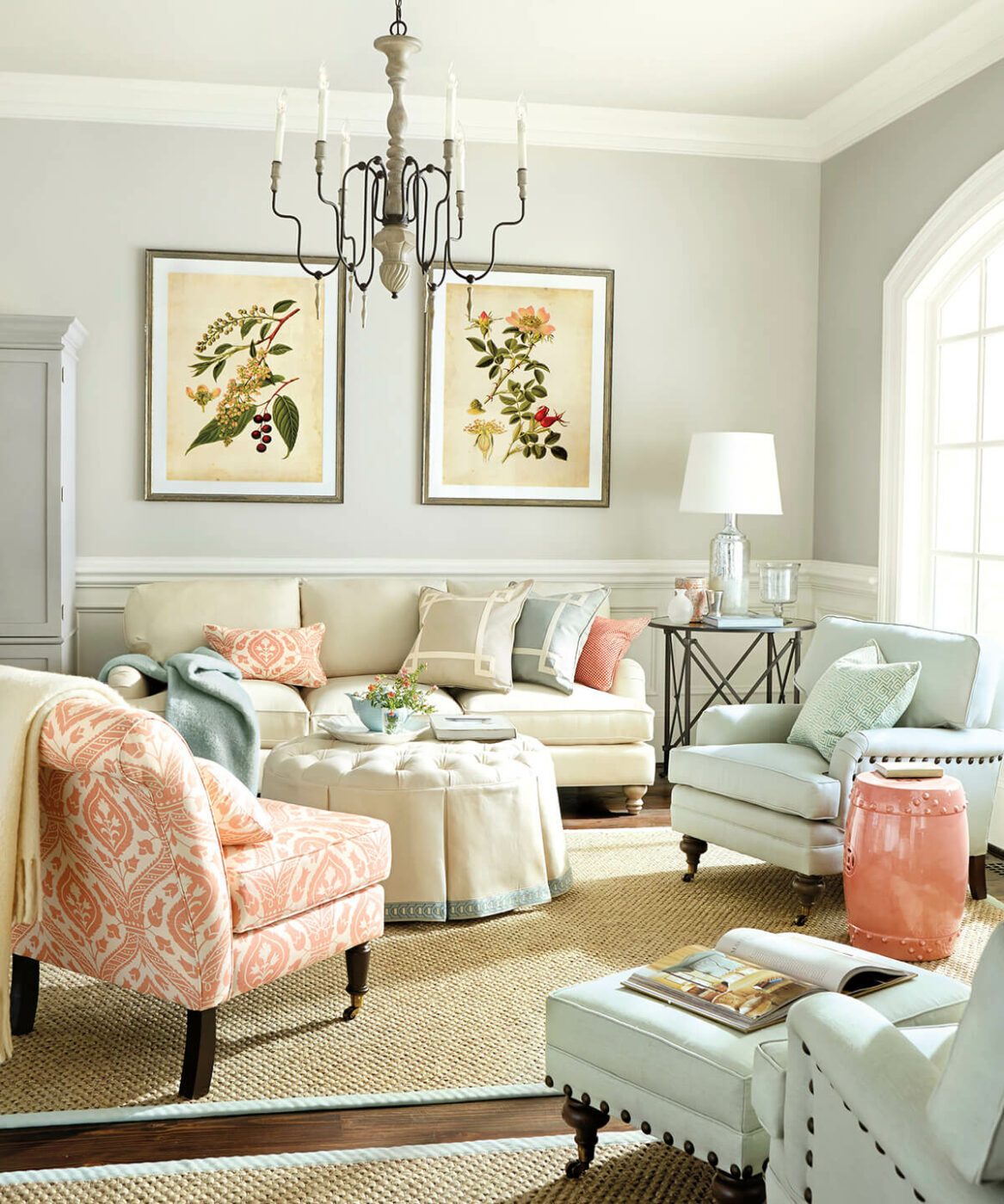 English Parlor Botanica Wall Prints