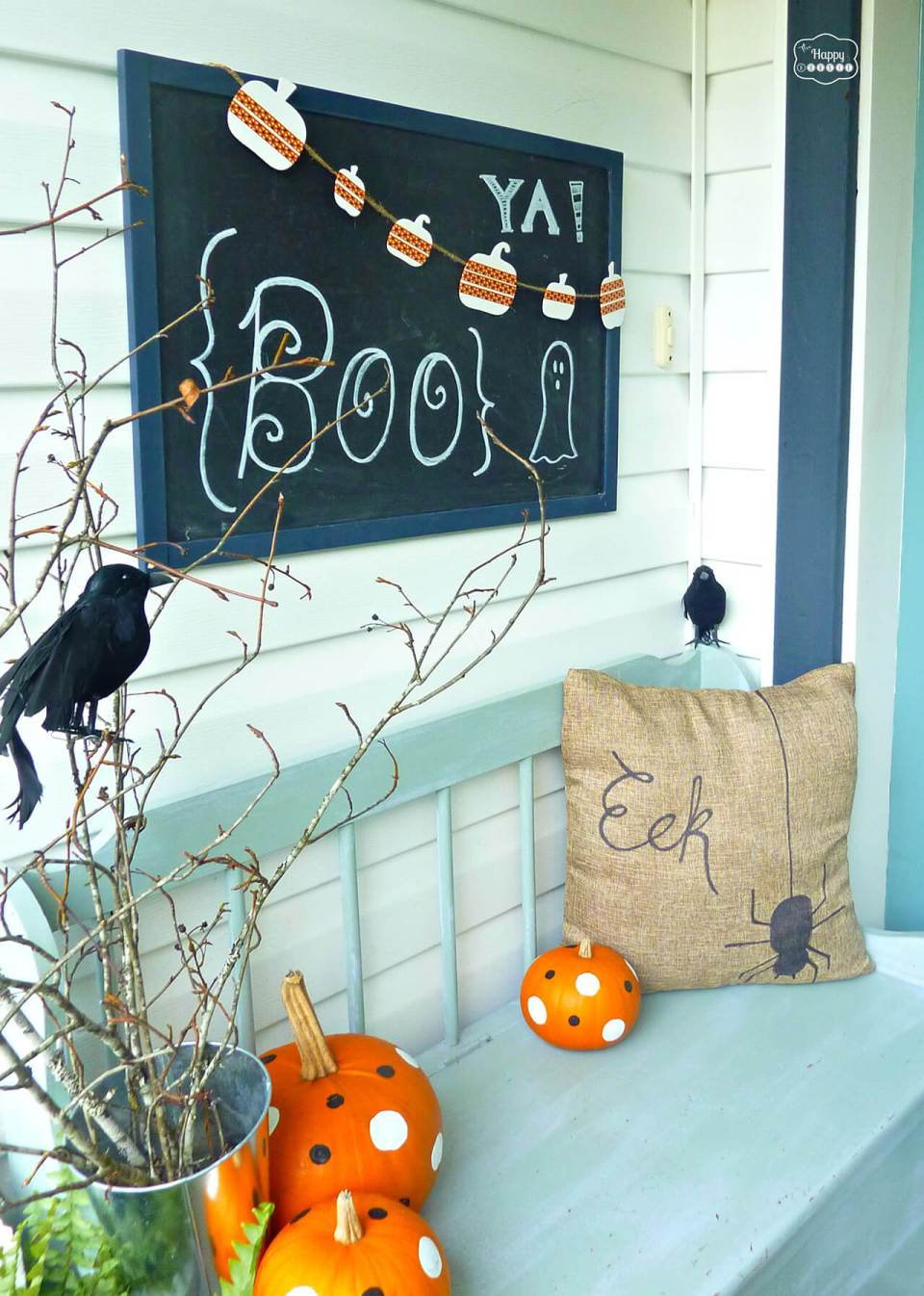 15 Spooky and Creative Outdoor Halloween Decorating Ideas