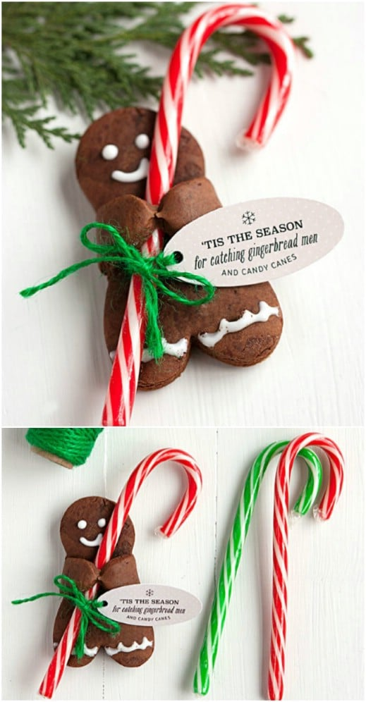 Candy Cane Holder Cookies