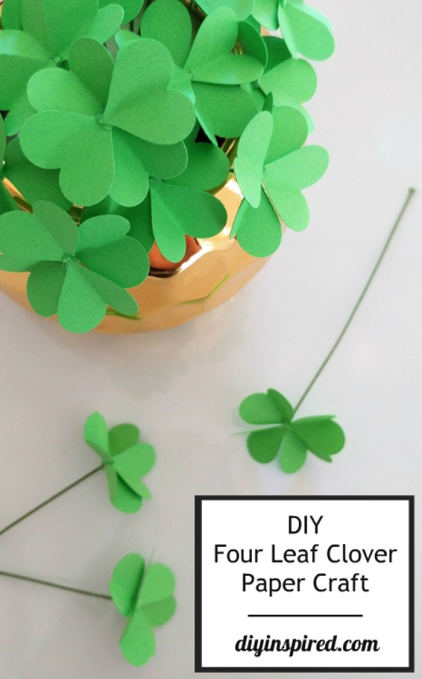 15 Easy DIY Ideas for St. Patrick's Day - Diy St. Patrick's Day Decorations, DIY St. Patrick's Day Decor, DIY Ideas for St. Patrick's Day, DIY Ideas for St. Patrick's