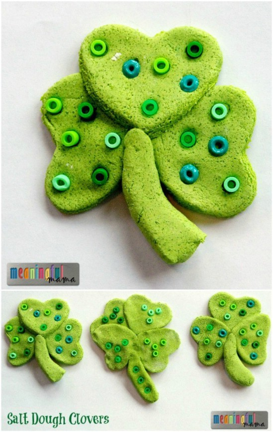 Salt Dough Clover