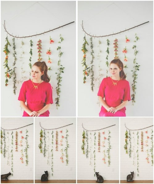 Flower String Wall Hanging