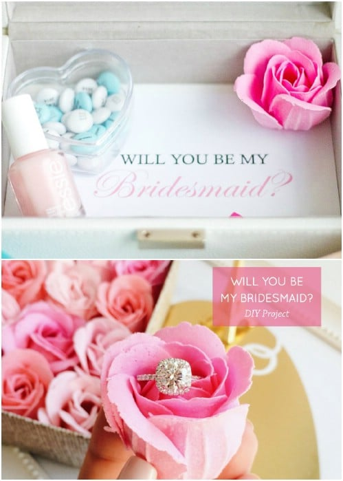 DIY Personalized Bridesmaid Jewelry Boxes