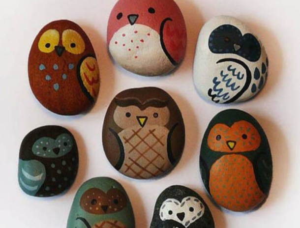 16 Creative DIY Ideas for Making Painted Rocks