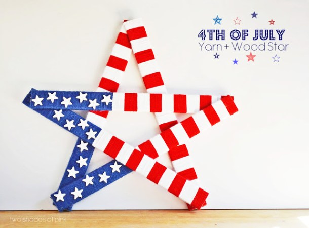 15 Easy 4th Of July Crafts For Kids (Part 2) - 4th of July diy decor, 4th Of July Crafts For Kids, 4th Of July Crafts