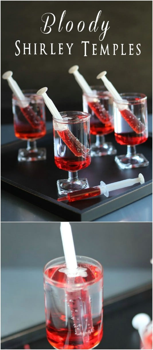 Bloody Shirley Temple Drinks