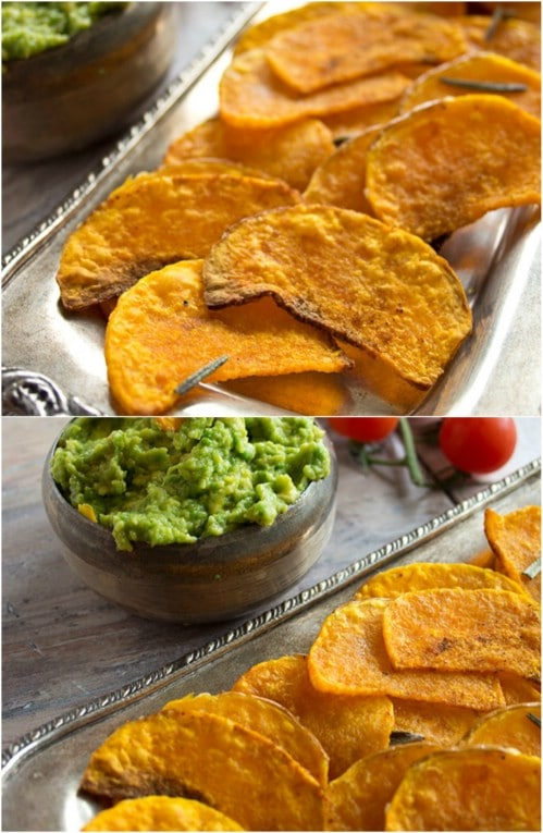 Low Carb Butternut Squash Crisps