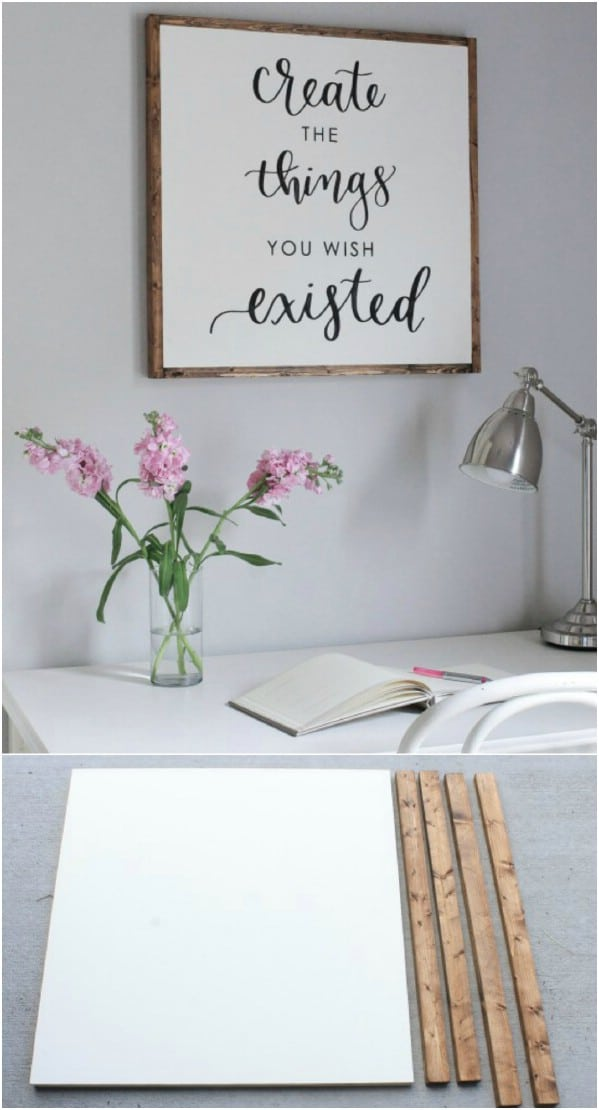 DIY Create Pallet Sign