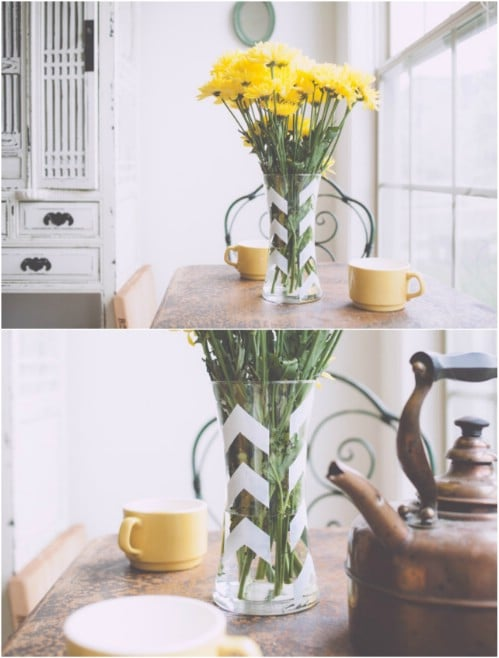 DIY Arrow Vase