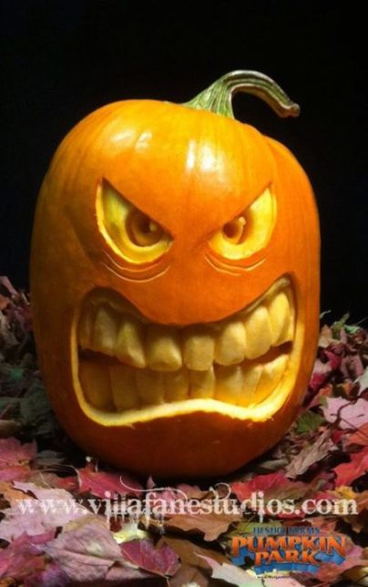 15 DIY Pumpkin Carving Ideas (Part 2) - DIY Pumpkin Carving Ideas, DIY Pumpkin Carving and Decorating Ideas, DIY Pumpkin Carving