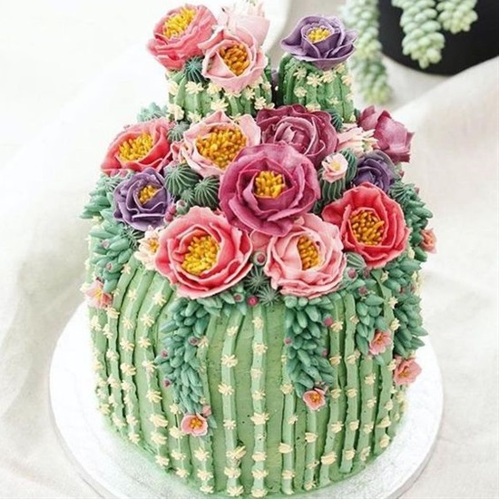 15 Beautiful Cake Decorating Ideas - Cake Decorating Ideas, Cake Decorating, cake, Birthday cake