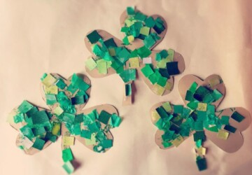 Lucky Shamrock Crafts for Kids to Make this St. Patrick's Day (Part 2) - St. Patrick's Day, DIY St. Patrick's Day Decoration, DIY Decoration Ideas For St. Patrick's Day