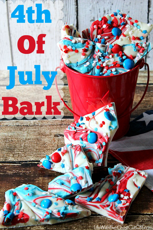 4th of July Bark | 25+ 4th of July Party Ideas