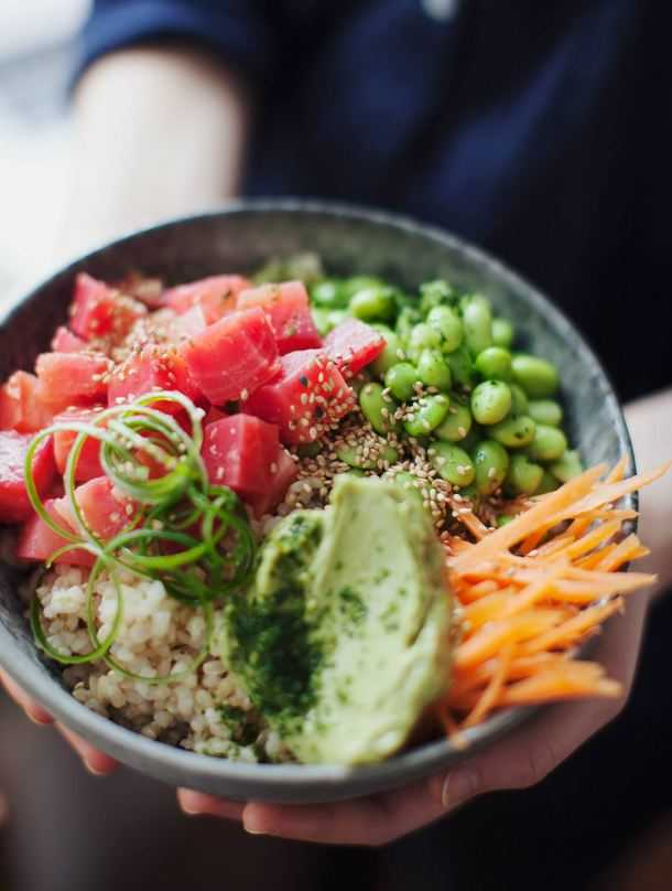 15 Quick and Delicious Poke Bowl Recipes to Add to Your Cooking Routine - smoothie bowl recipes, smoothie bowl breakfast, Poke Cake Recipes, Poke Bowl Recipes, Poke Bowl Recipe, Poke Bowl, Poke, Bowl Recipes, Bowl