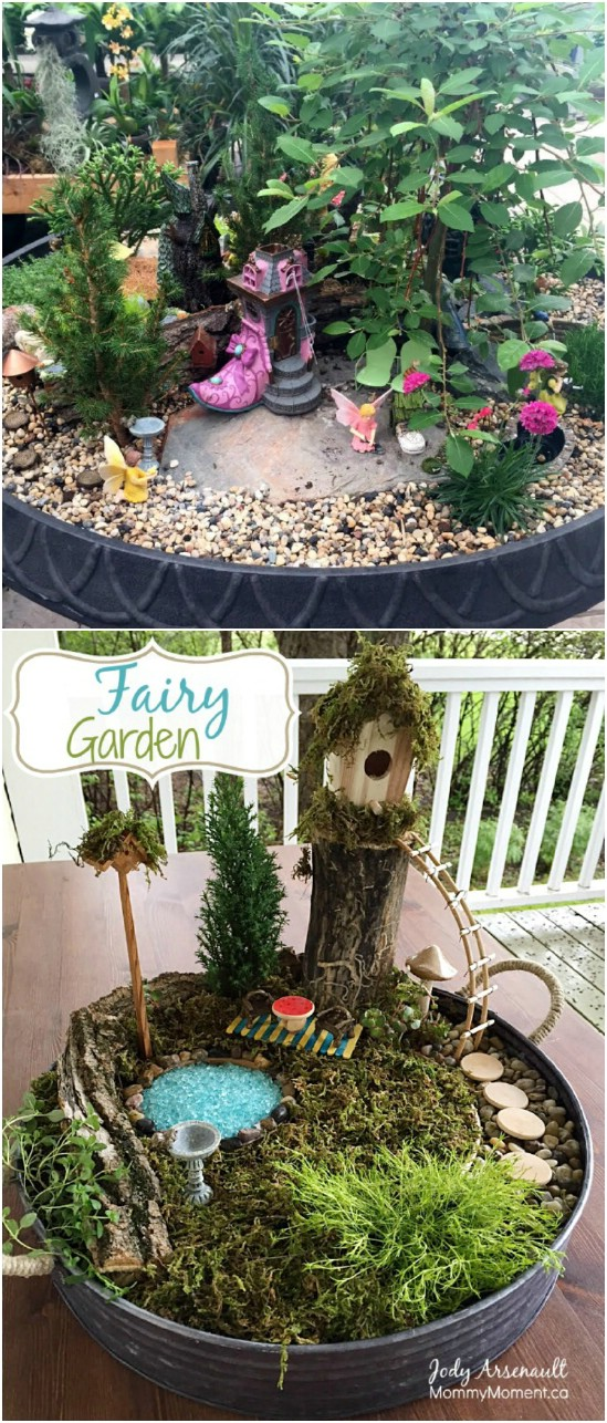 Simple Budget Friendly Fairy Garden