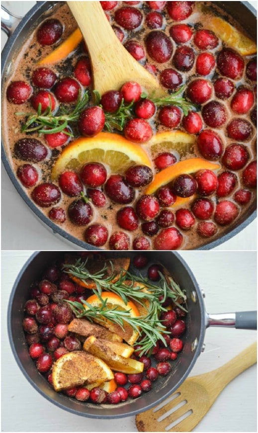 Homemade Cinnamon And Cranberry Simmering Potpourri