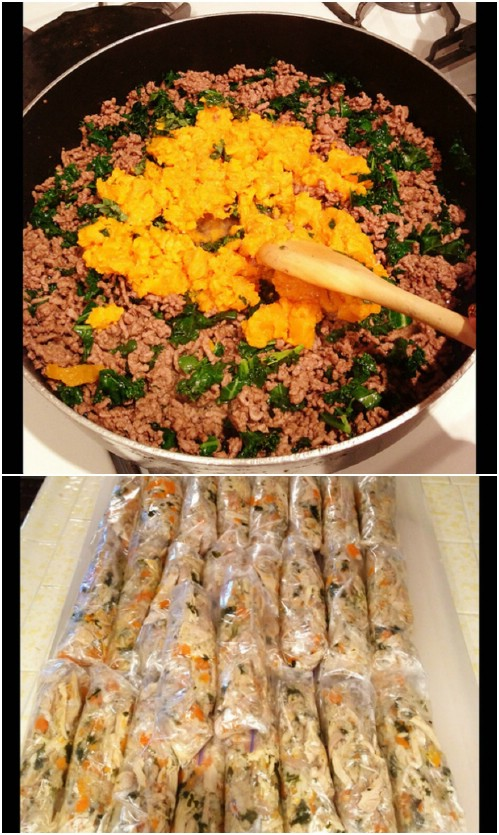 Protein Packed Homemade Dog Food