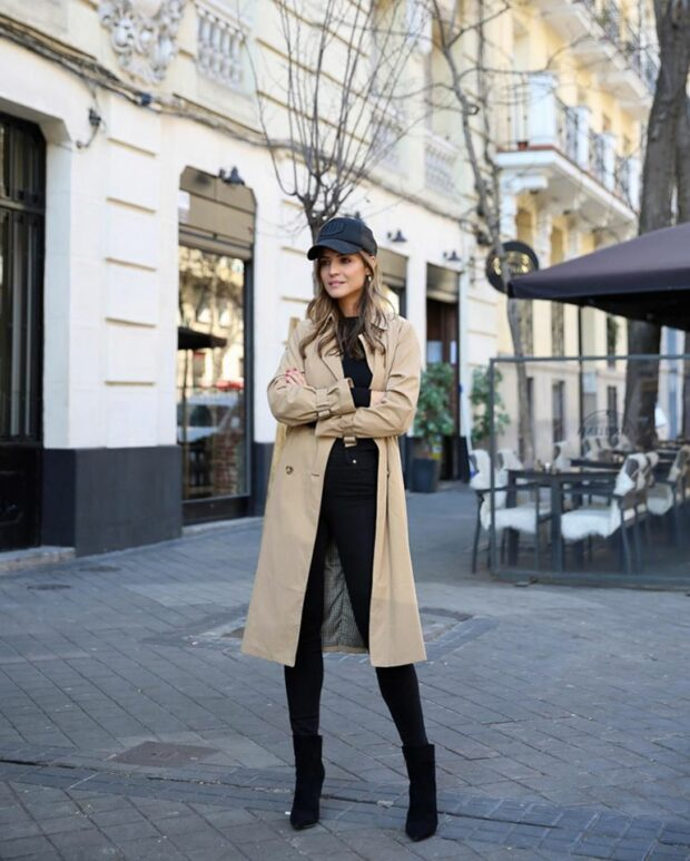15 Cute Winter Outfit Ideas with Hats and Beanies