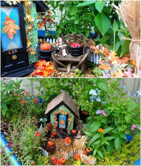 Easy DIY Wheelbarrow Fairy Garden