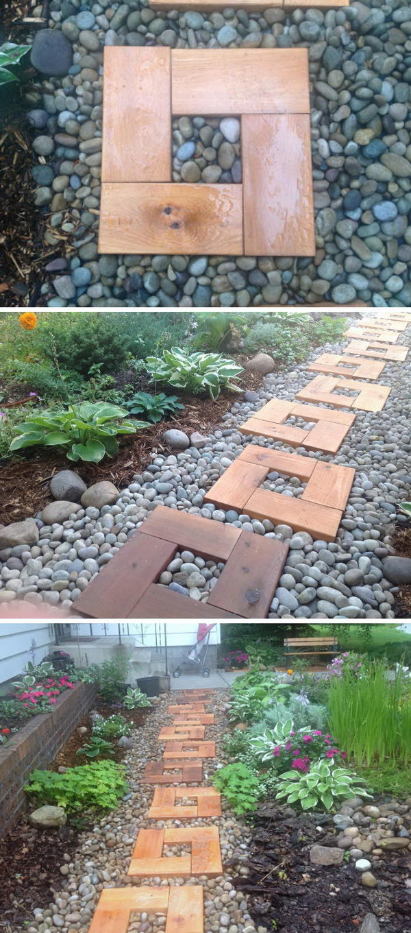 16 Amazing DIY Garden Path and Walkways Ideas - Garden Paths design ideasd, garden path, Front Yard Entry Pathway, DIY Garden Walkways Ideas, DIY Garden Path and Walkways Ideas, DIY Garden Path, diy garden