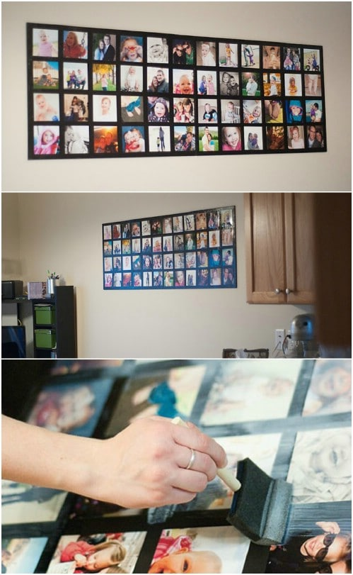 DIY Wall Picture Collage