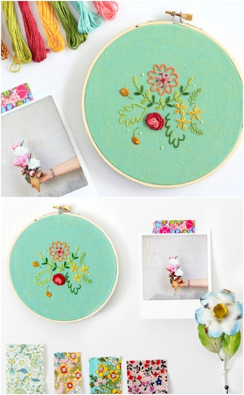 Sweet Posies Embroidery Pattern