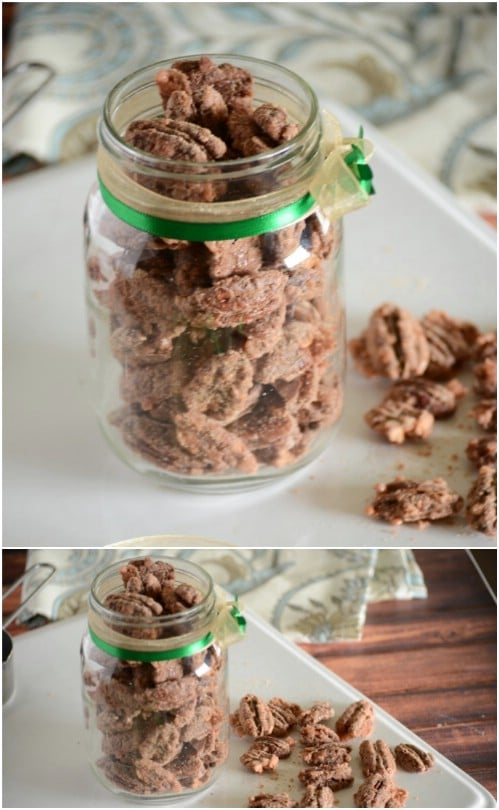Homemade Cinnamon Sugar Pecans