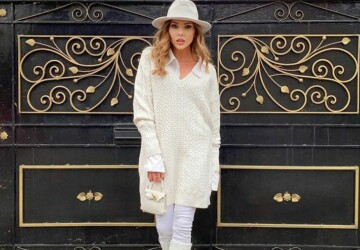 14 Stylish Ways to wear White Pants and Jeans in Winter - winter white jeans outfits, white pants outfit ideas, white pants, white jeans