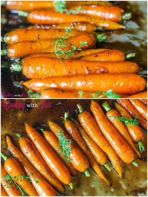 Balsamic Glazed Carrots