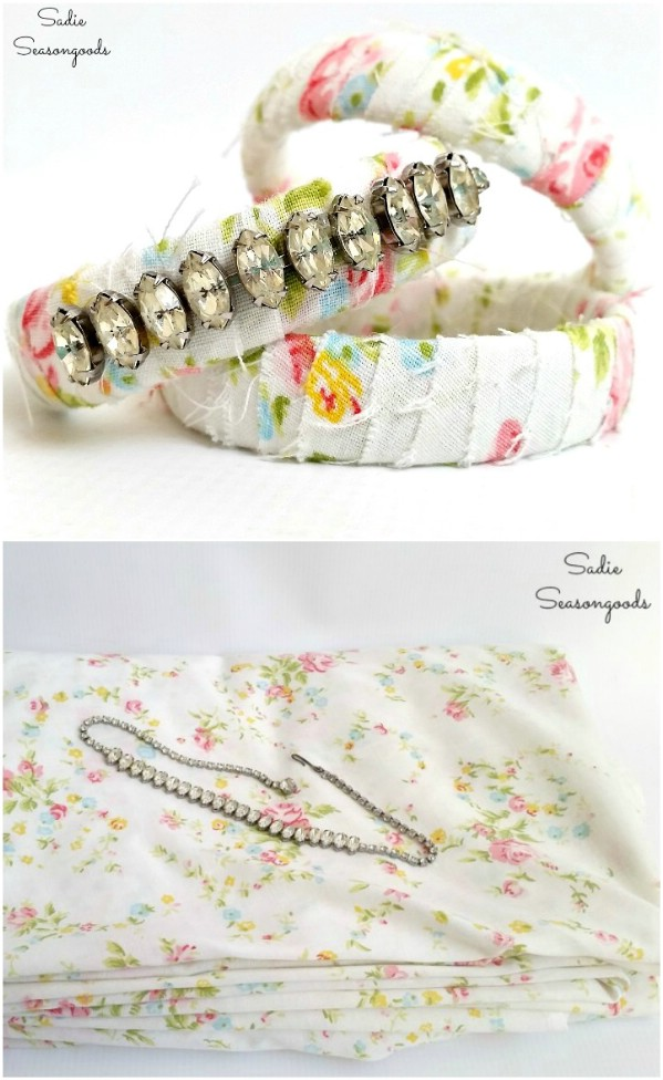 DIY Fabric Wrapped Bangles
