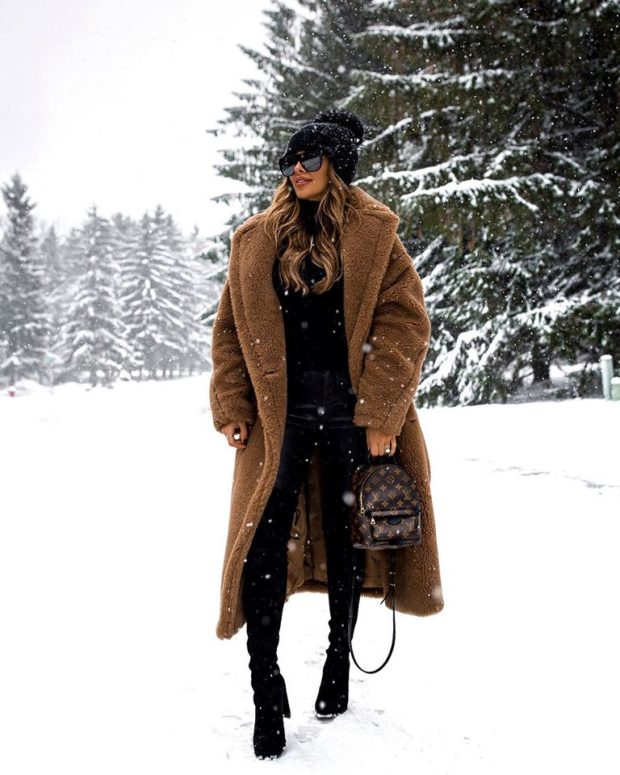 Cute Outfits You Can Actually Wear in the Snow (Part 1)
