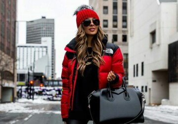 How to Style Sneakers in the Winter- 13 Street Style Outfit Ideas - Sneakers winter outfit ideas, Sneakers Outfit Ideas, Sneakers, How To Style Sneakers for Spring, coat and sneakers