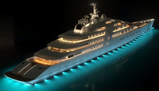 These Are the 5 Most Incredible (and Pricey) Superyachts in the World