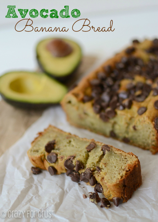 Avocado Banana Bread | 25+ Quick Bread Recipes (No Yeast Required)