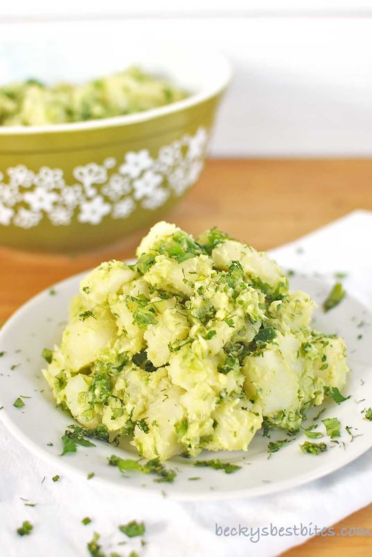 Avocado Potato Salad | 25+ Potato Side Dishes