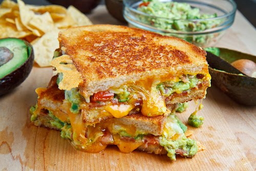 Bacon & Guacamole Grilled Cheese | 25+ Grilled Cheese Recipes