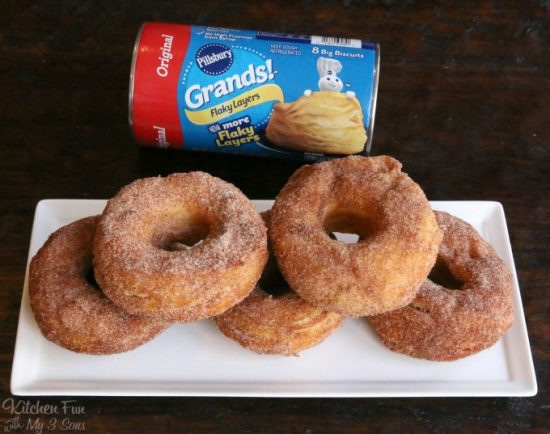 Biscuit Donuts   25+ Donut Recipes