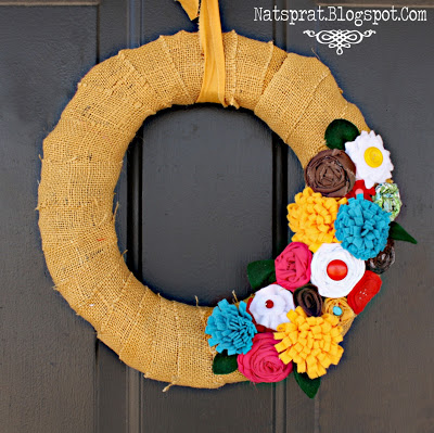 Blow Away-less Spring Wreath | 25+ Spring wreaths