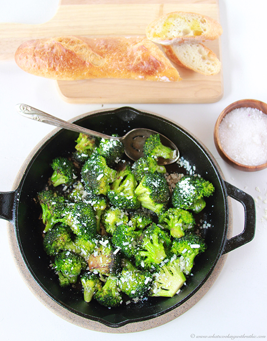Browned Butter Broccoli with Mizithra Cheese   25+ Browned Butter Recipes
