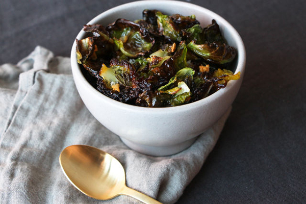 Brussel Sprout Chips | 25+ Brussels Sprout Recipes