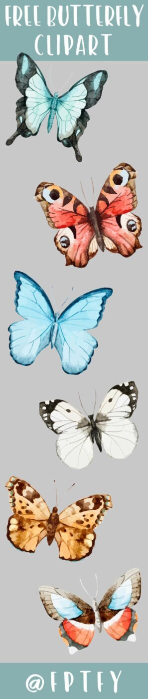 DIY Ideas With Butterflies - Butterfly Clip Art - Cute and Easy DIY Projects for Butterfly Lovers - Wall and Home Decor Projects, Things To Make and Sell on Etsy - Quick Gifts to Make for Friends and Family - Homemade No Sew Projects- Fun Jewelry, Cool Clothes and Accessories http://diyprojectsforteens.com/diy-ideas-butterflies