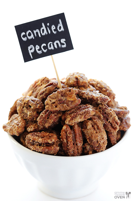 Candied Pecans | 25+ Pecan Recipes