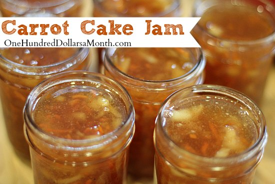 Carrot Cake Jam Recipe | 25+ Canning Recipes