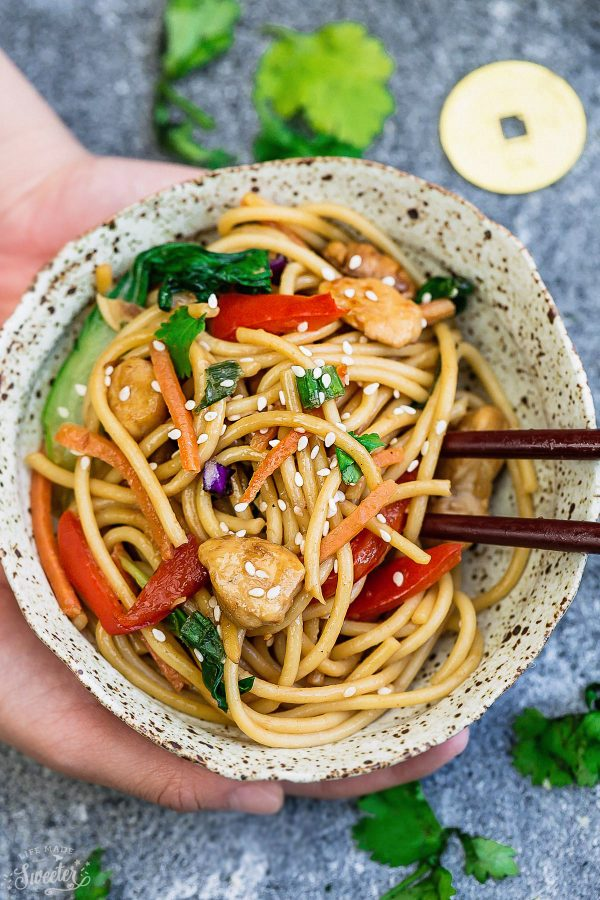 Chicken Lo Mein | 25+ Chinese Food Recipes at Home