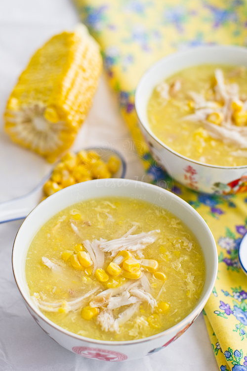 Chicken and Sweetcorn Soup | 25+ fresh corn recipes