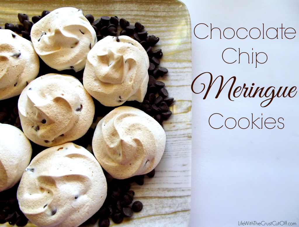 Chocolate Chip Meringue Cookies | 25+ Christmas Cookie Exchange Recipes