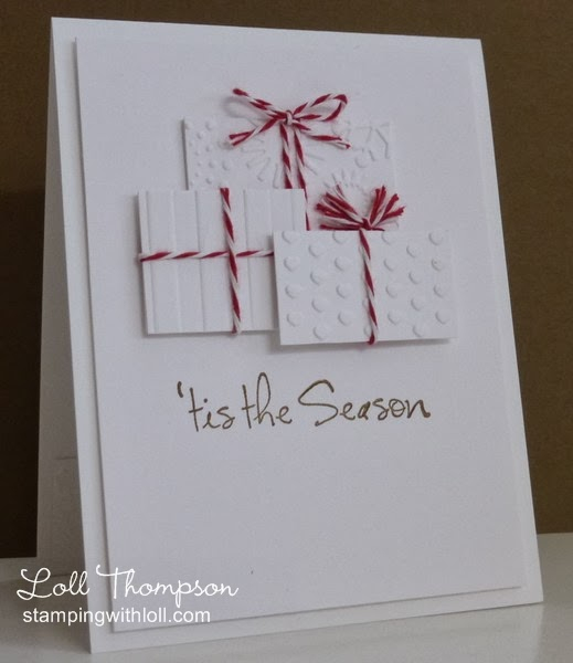 Christmas Packages | 25+ Handmade Christmas Cards