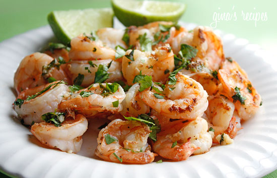 Cilantro Lime Shrimp | 25+ gluten and dairy free recipes