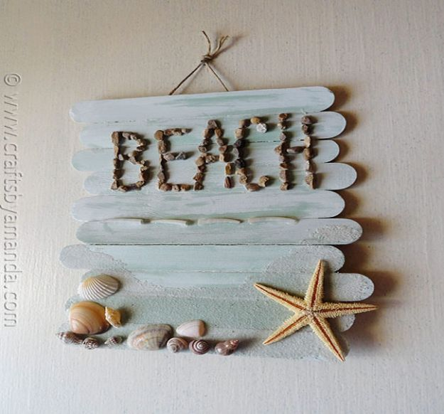 13 Relaxing DIY Beach House Decor Ideas